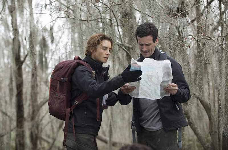 James Ransone and Hannah Ware in The First