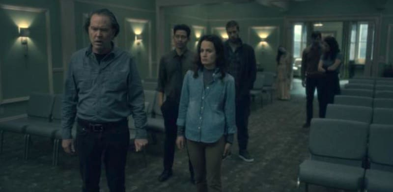 scene from The Haunting of Hill House
