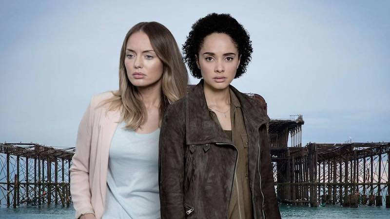 Laura Haddock and Karla Crome in The Level