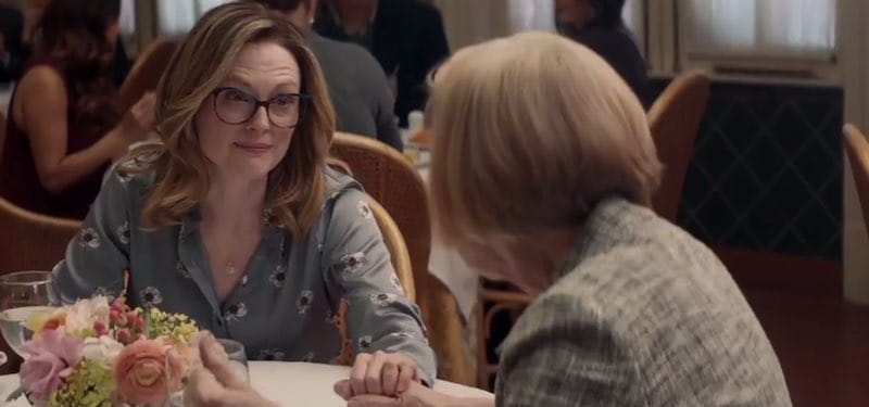 Julianne Moore and Holland Taylor in Gloria Bell