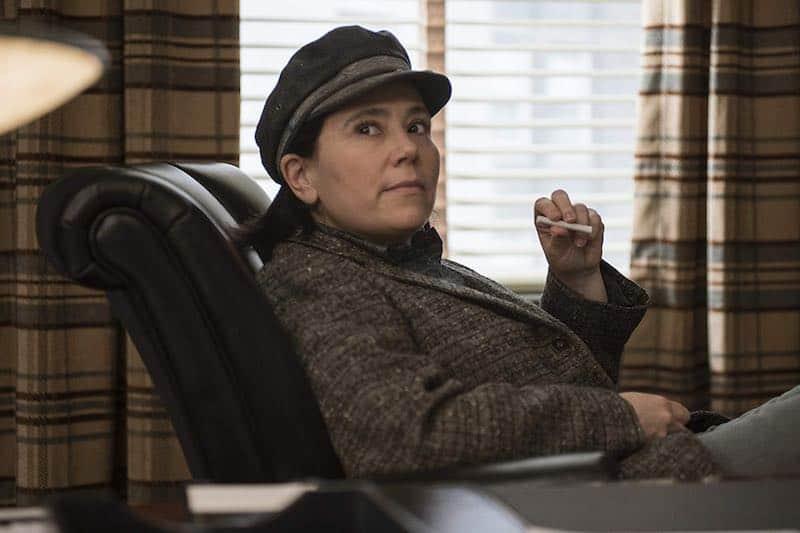 Alex Borstein in The Marvelous Mrs. Maisel