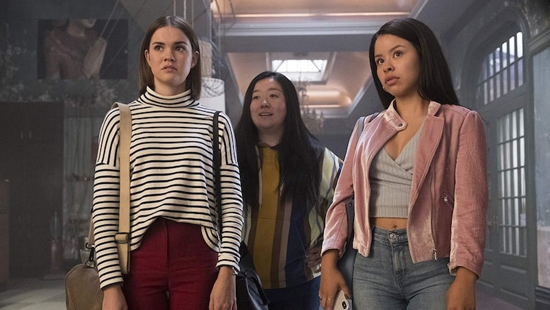 Cierra Ramirez, Maia Mitchell, and Sherry Cola in Good Trouble