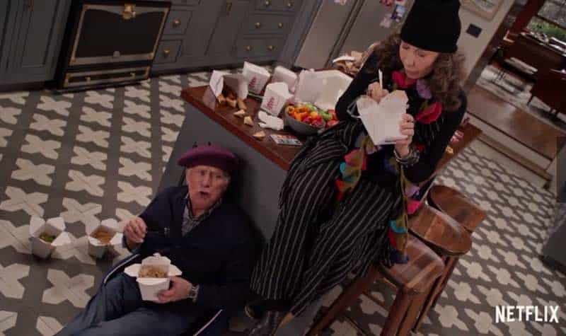 Martin Sheen and Lily Tomlin in Grace and Frankie