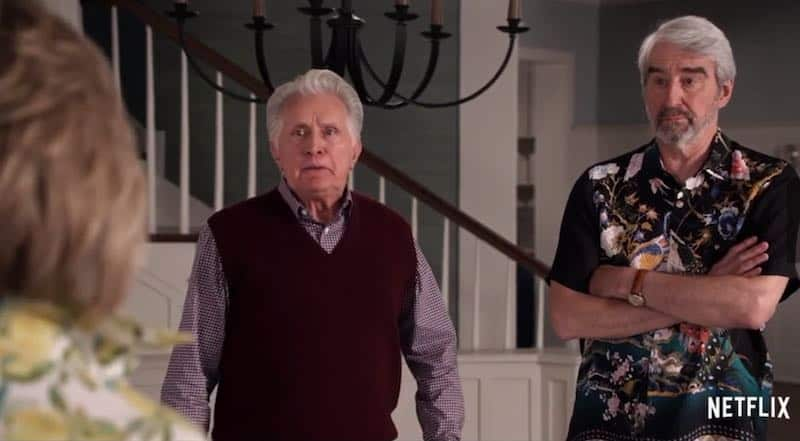 Sam Waterston and Martin Sheen in Grace and Frankie