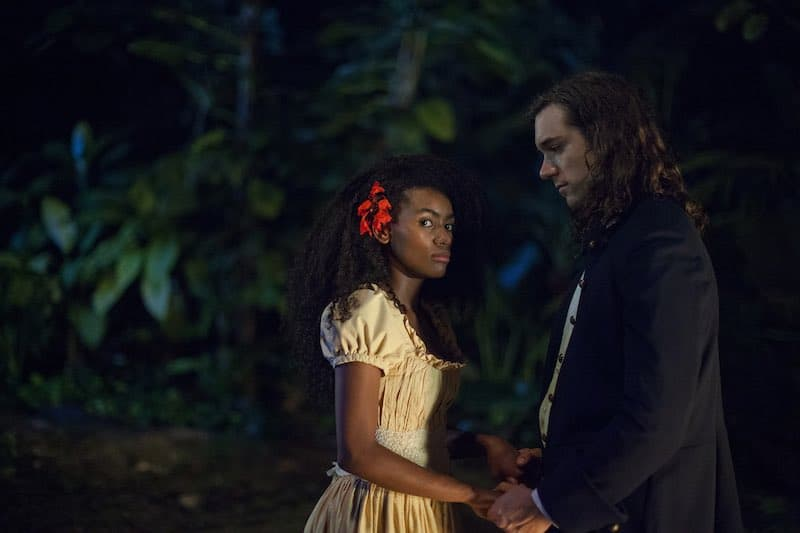 Angely Gaviria and Lenard Vanderaa in Always a Witch (Siempre Bruja).
