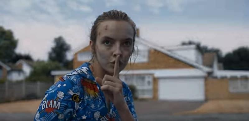Jodie Comer in Killing Eve