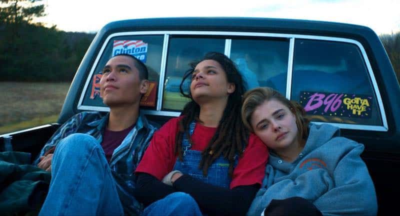 Chloë Grace Moretz, Forrest Goodluck, and Sasha Lane in The Miseducation of Cameron Post