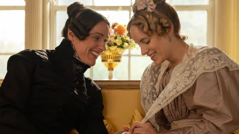 Suranne Jones and Sophie Rundle in Gentleman Jack