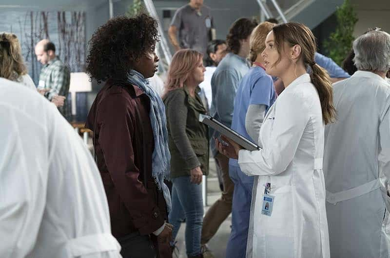 Khalilah Joi and Camilla Luddington  in Grey's Anatomy