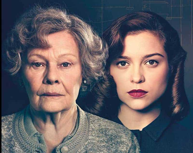 Sophie Cookson and Judi Dench in Red Joan