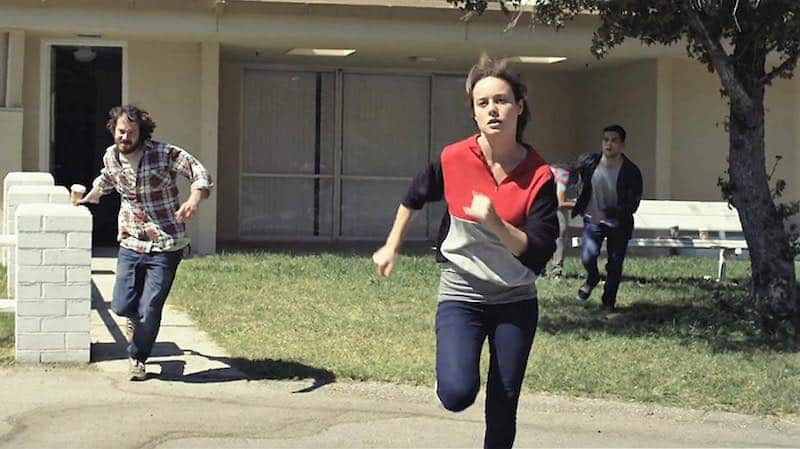 John Gallagher Jr., Brie Larson and Rami Malek in Short Term 12in Short Term 12