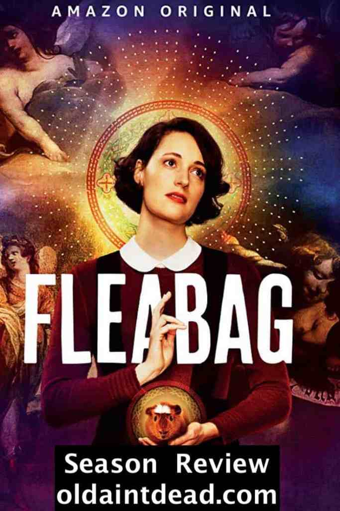 The season 2 poster for Fleabag featuring Phoebe Waller-Bridge