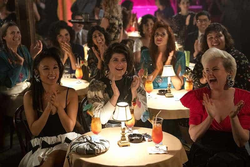 Marianna Palka, Kimmy Gatewood, Rebekka Johnson, Kate Nash, Ellen Wong, Shakira Barrera, Britney Young, and Sunita Mani in GLOW