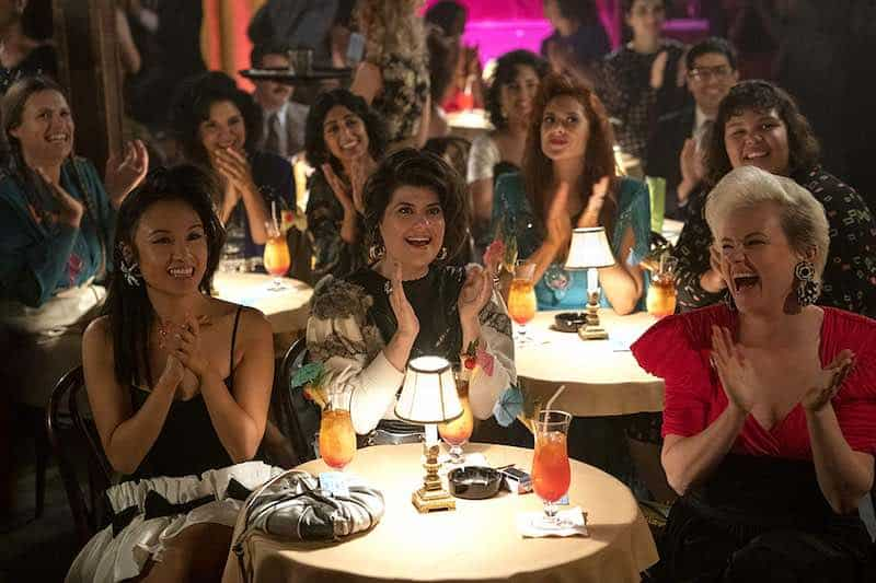 Marianna Palka, Kimmy Gatewood, Rebekka Johnson, Kate Nash, Ellen Wong, Shakira Barrera, Britney Young, and Sunita Mani in GLOW