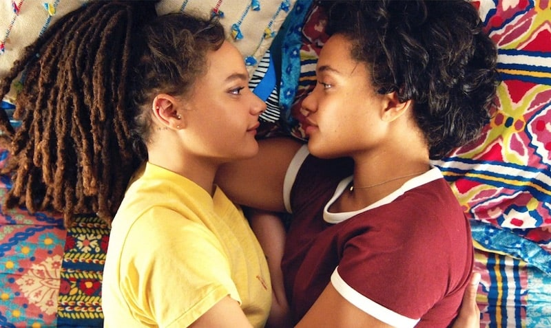 Sasha Lane and Kiersey Clemons in Hearts Beat Loud