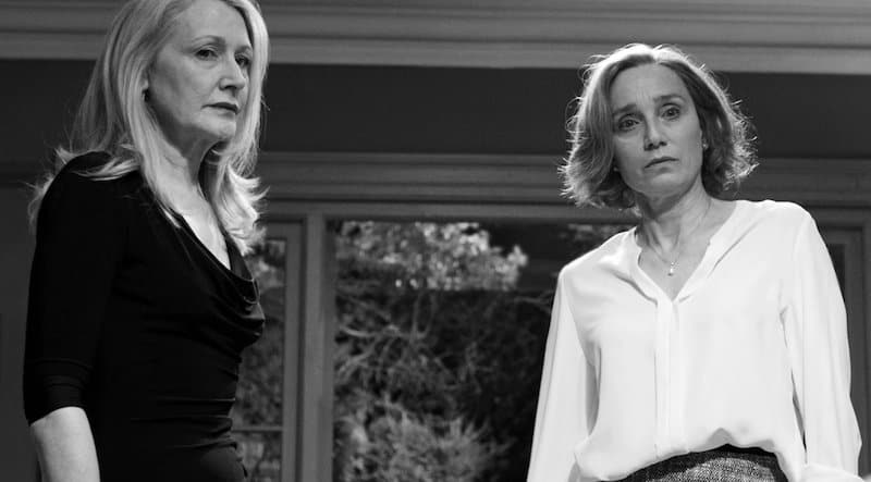 Kristin Scott Thomas and Patricia Clarkson in The Party