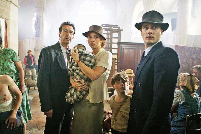 Robin Renucci, Audrey Fleurot and Nicolas Gob in A French Village