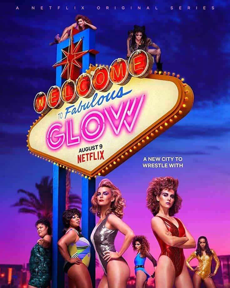 Season 3 poster for GLOW