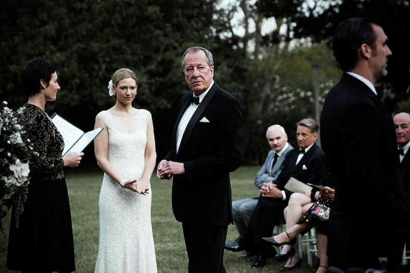 Geoffrey Rush and Anna Torv in The Daughter