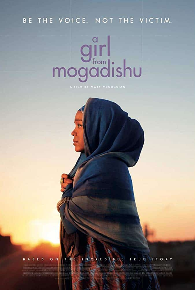 Poster for A Girl from Mogadishu