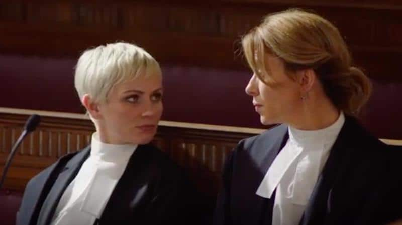 Eve Myles and Hannah Daniel in Keeping Faith