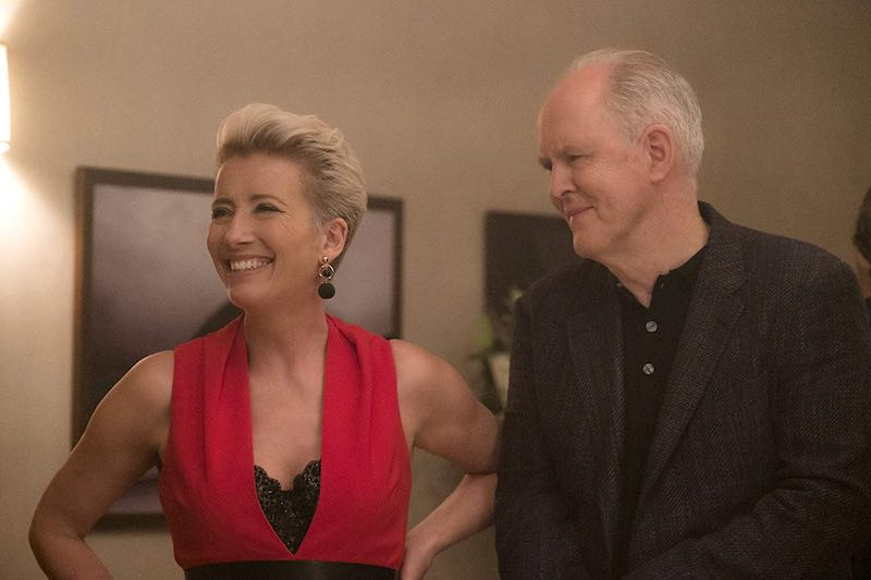 Emma Thompson and John Lithgow in Late Night