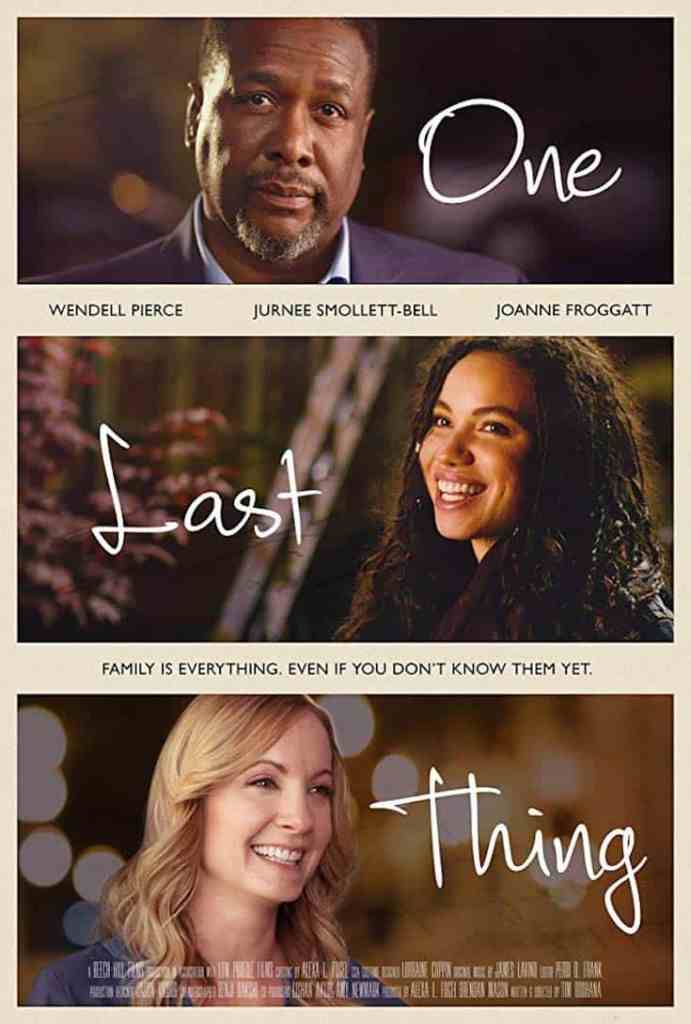 Poster for One Last Thing