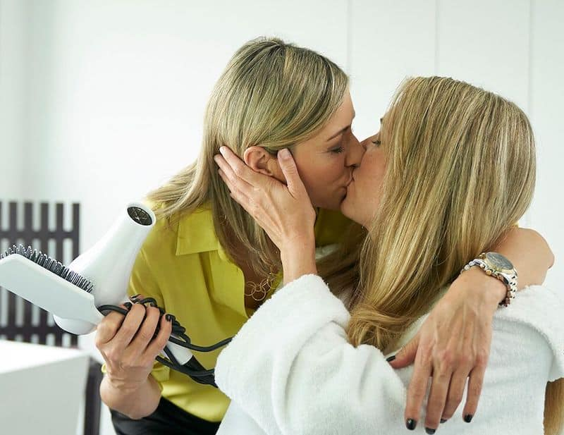 Angela Asher and Juno Rinaldi in Workin' Moms