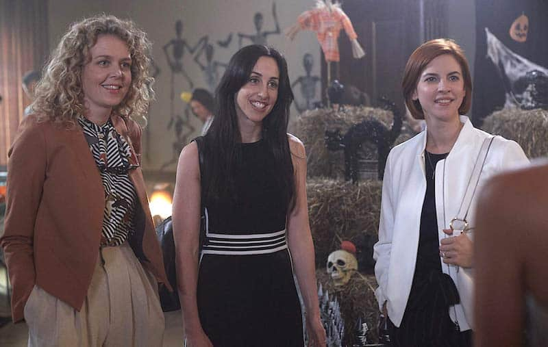 Catherine Reitman, Juno Rinaldi, and Dani Kind in Workin' Moms