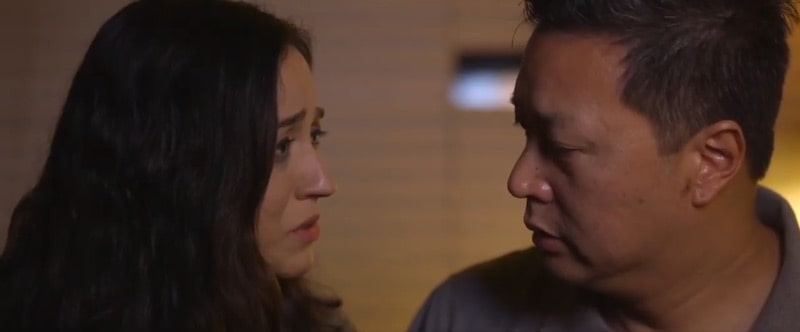 Sara Amini and Tom Huang in Find Me