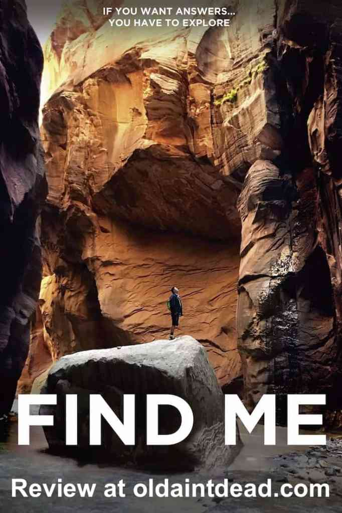 The poster for Find Me