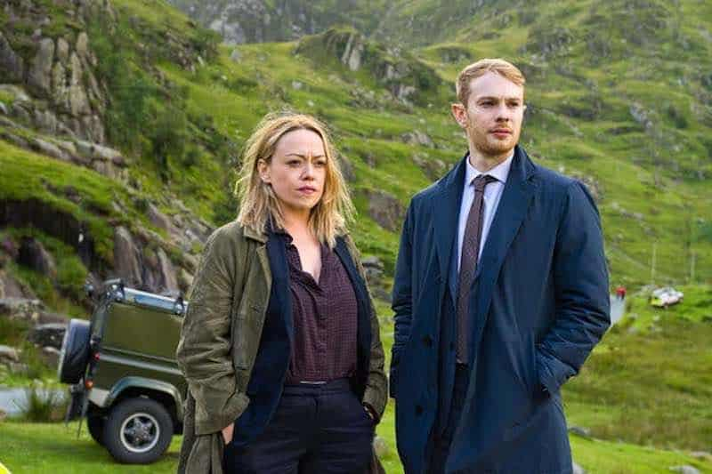 Sian Reese-Williams and Sion Alun Davies in Hidden