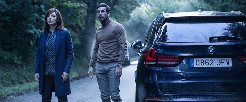 Bárbara Lennie and Mario Casas in The Invisible Guest (Contratiempo)