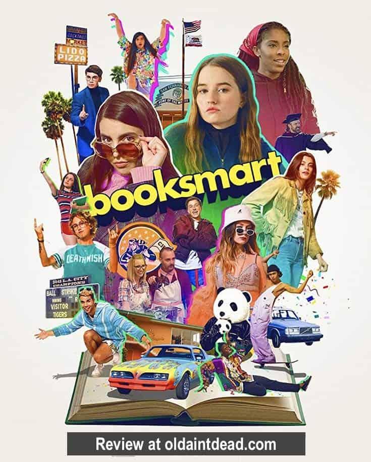 A Booksmart poster