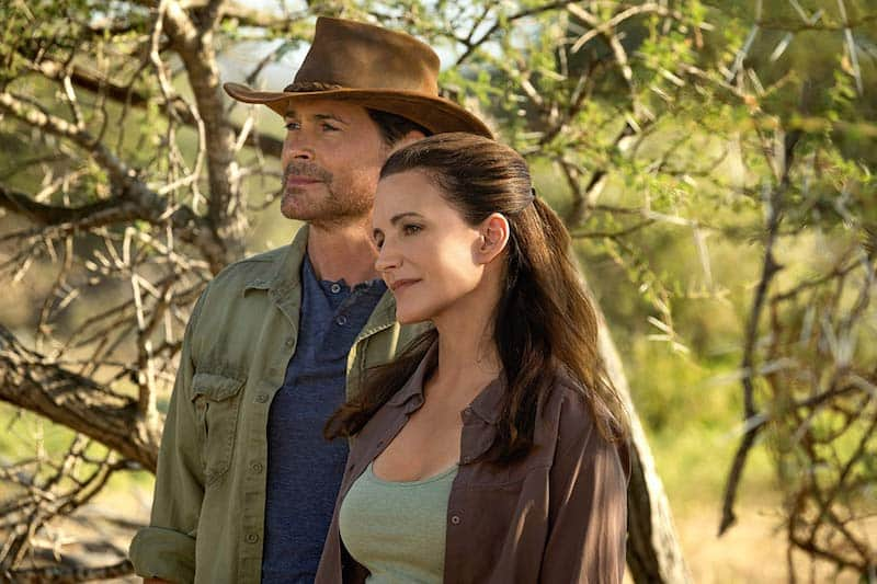 Rob Lowe and Kristin Davis in Holiday in the Wild