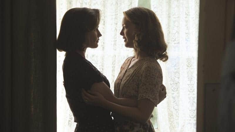 Anna Paquin and Holliday Grainger in Tell It to the Bees