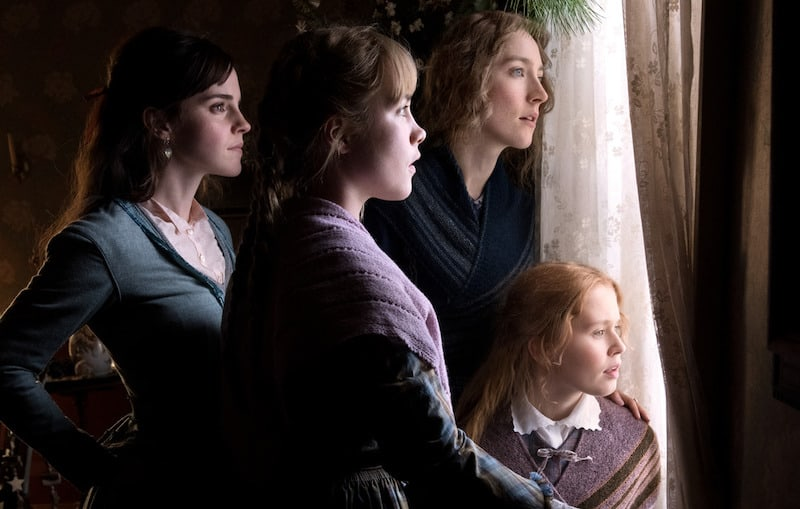 Emma Watson, Saoirse Ronan, Florence Pugh, and Eliza Scanlen in Little Women