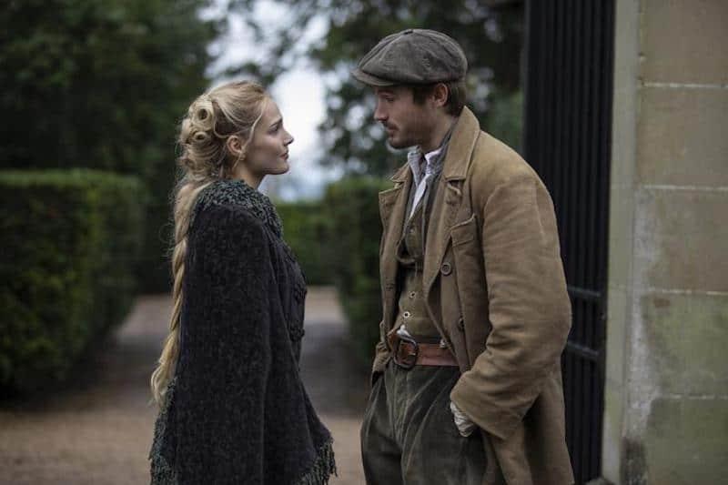 Camille Lou and Victor Meutelet in The Bonfire of Destiny (Le Bazar de la Charité)
