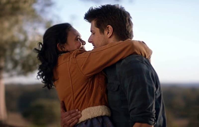 Ryan Johnson and Miranda Tapsell in The Heart Guy (Doctor Doctor)