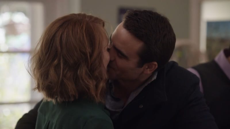Hayley McElhinney and Dustin Clare in The Heart Guy (Doctor Doctor)
