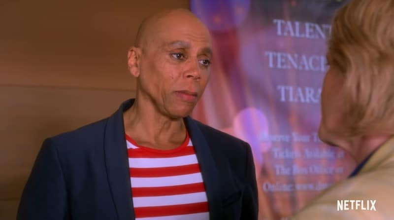 RuPaul in AJ and the Queen