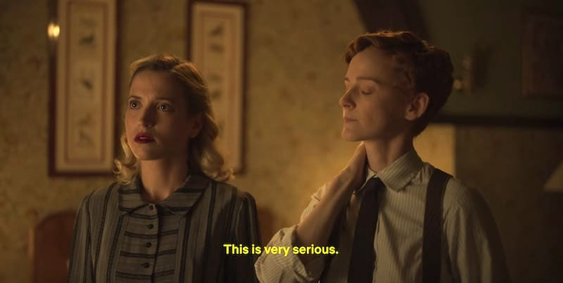 Ana Fernández and Ana Polvorosa in Cable girls