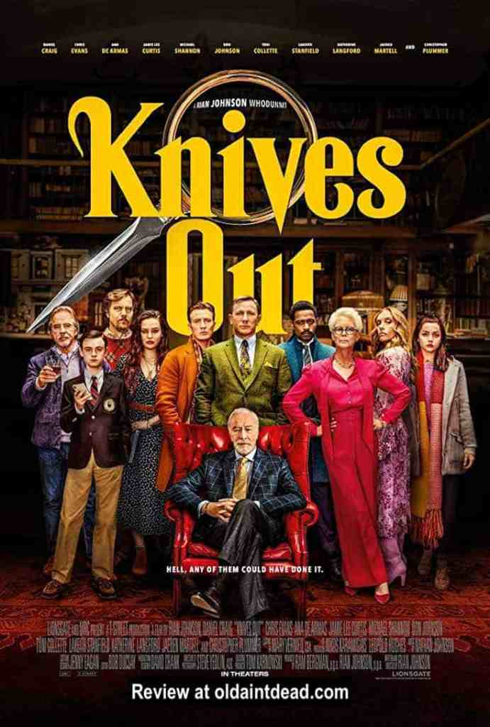 The poster for Knives Out
