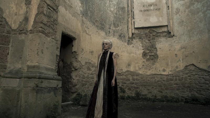 Manuela Mandracchia in Luna Nera