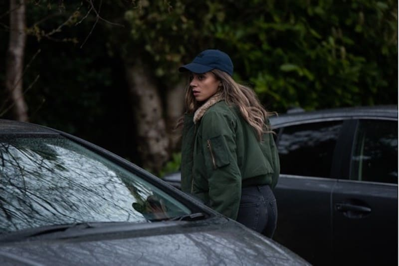 Hannah John-Kamen in The Stranger