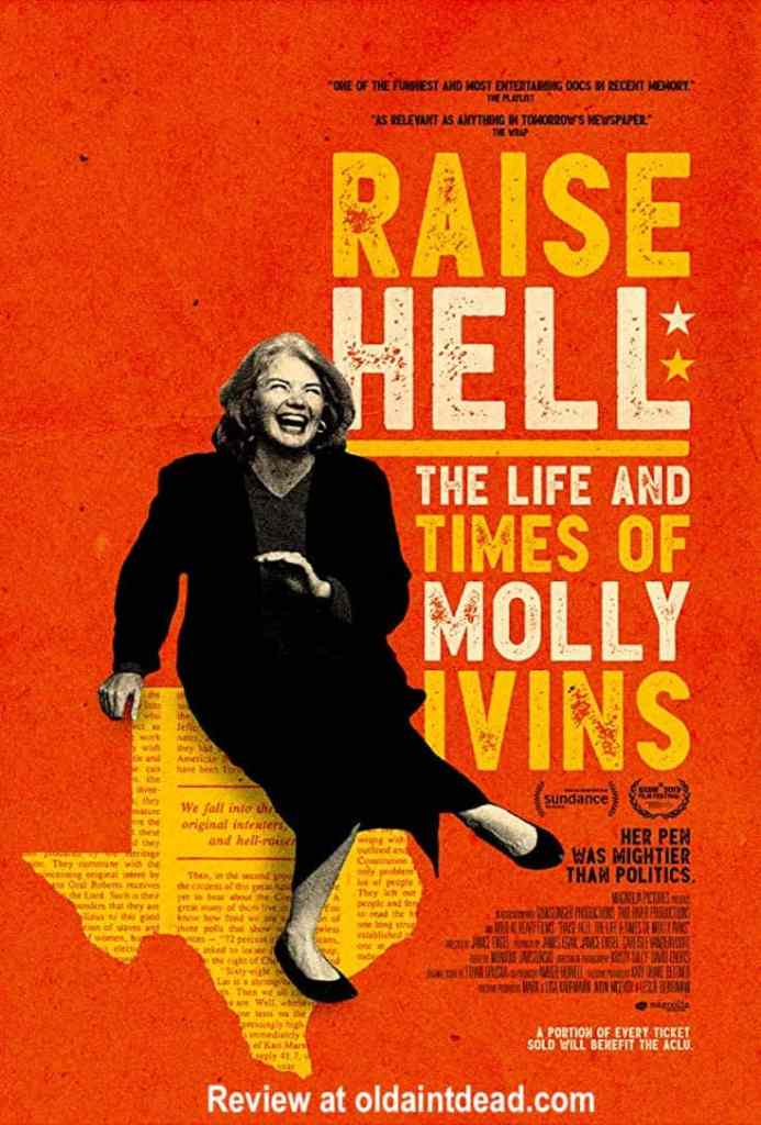 Raise Hell: The Life and Times of Molly Ivins poster