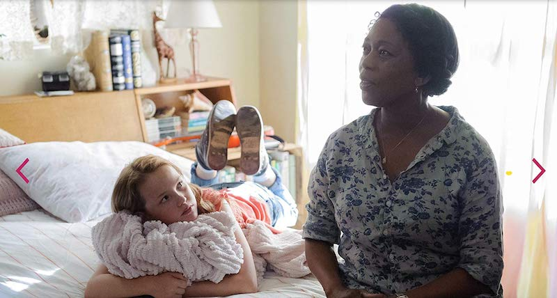 Alfre Woodard and Talitha Eliana Bateman in So B. It