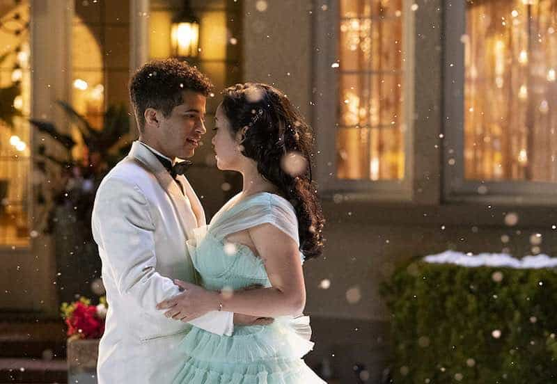Jordan Fisher and Lana Condor in To All the Boys: P.S. I Still Love You