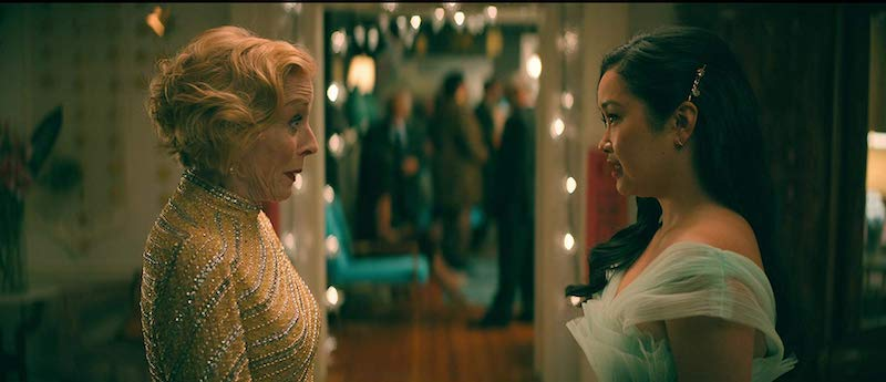 Holland Taylor and Lana Condor in To All the Boys: P.S. I Still Love You