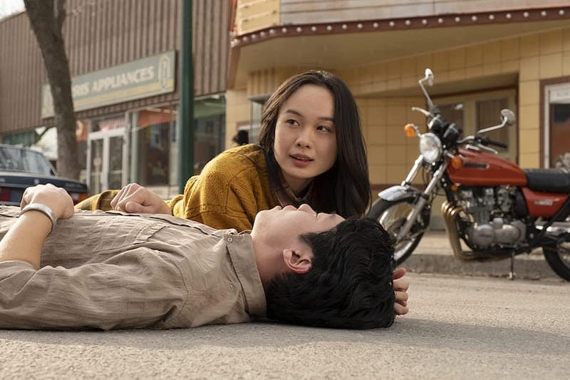 Danny Kang and Nicole Law in Tales From The Loop